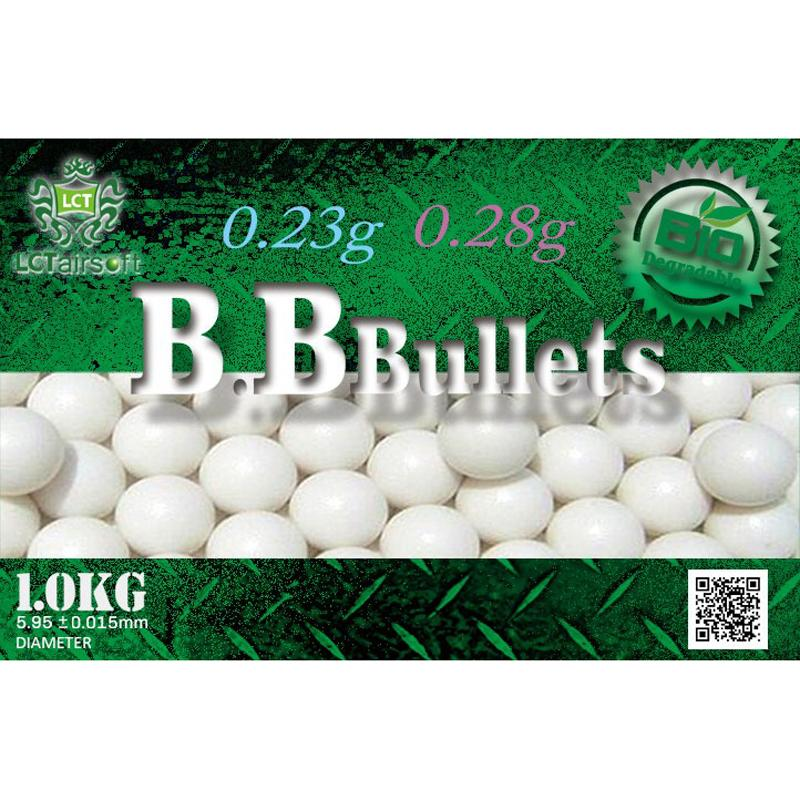 LCT Bio BB Bullets - 0,28g - 1Kg - Blanco The Time Seller