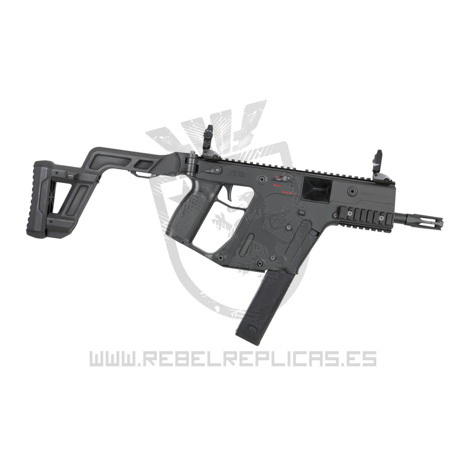 Kriss Vector LICENCIADA Kriss USA - Krytac - Negro - Rebel Replicas