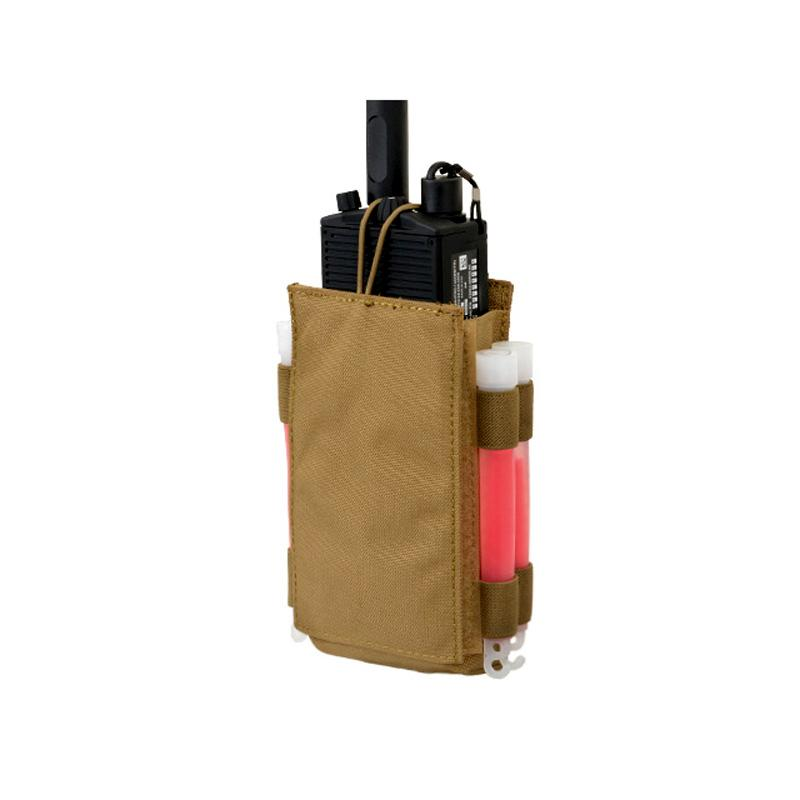 Pouch porta radio MBITR - Coyote - 8Fields The Time Seller