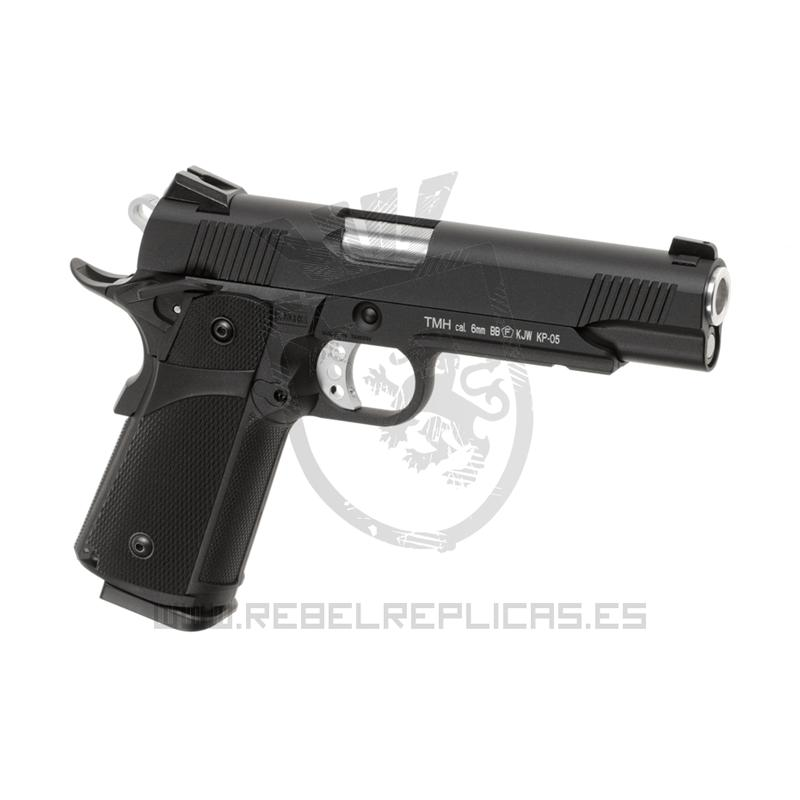 HI-CAPA 5.1 FULL METAL - GBB - Negro - KJ Works - Rebel Replicas