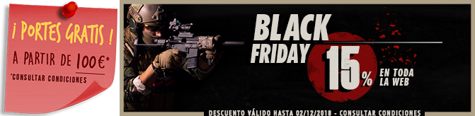 Oferta BlackFriday Rebel Replicas
