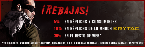 Oferta Enero Rebel Replicas