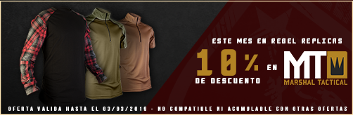 Oferta Febrero Marshal Tactical