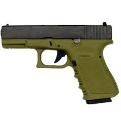 KJW G23 - Gas, Blowback, Corredera de ABS, Verde OD - Rebel Replicas