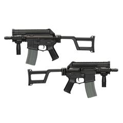 M4-CCR TACTICAL EFCS - Negro - ARES Amoeba - Rebel Replicas