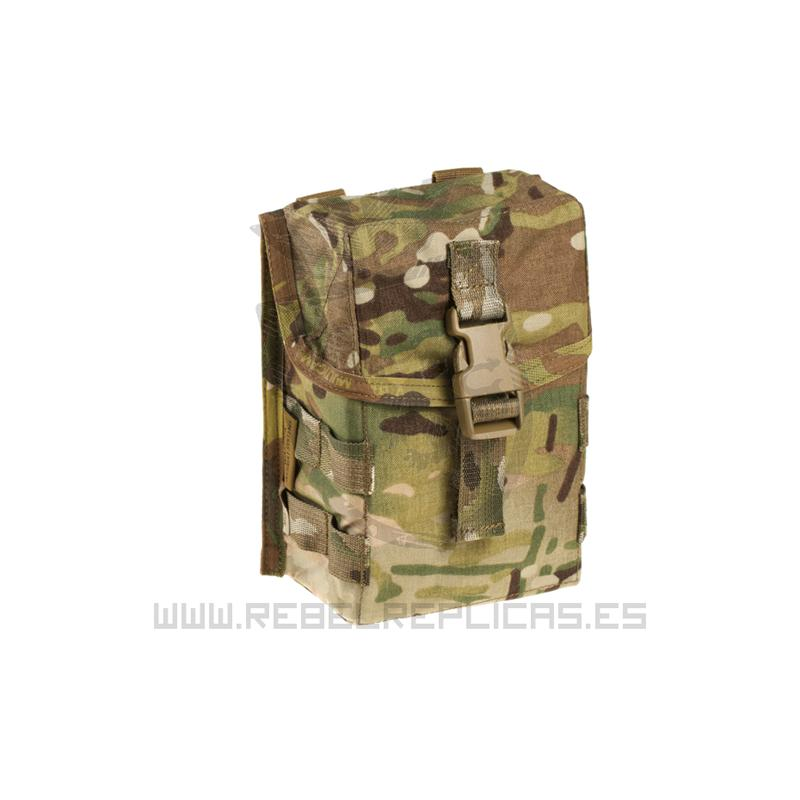 Pouch utilitario mediano con clip ITW - Multicam - Warrior - Rebel Replicas