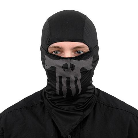 Balaclava Ghost-Skull - Negro - Rebel Replicas