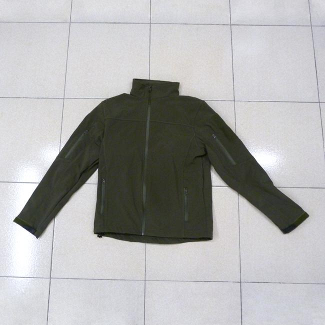 Chaqueta Softshell Shark Skin - Verde OD - Rebel Replicas
