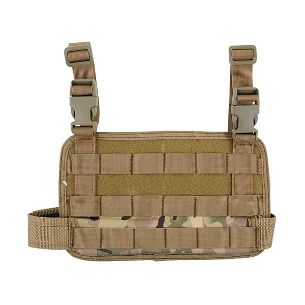 Panel MOLLE para pierna - Multicam - Rebel Replicas