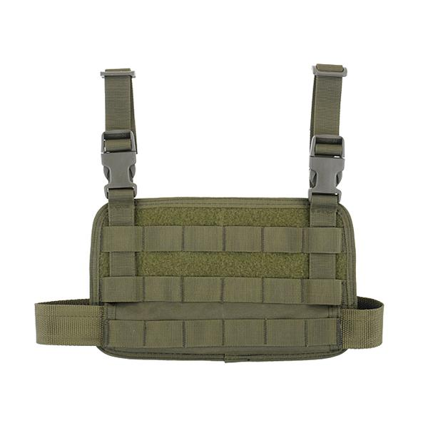 Panel MOLLE para pierna - Verde OD - Rebel Replicas