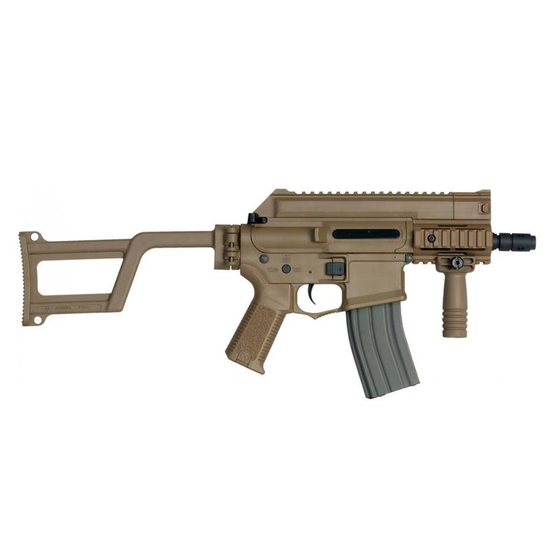 M4-CCR TACTICAL EFCS - Tan - ARES Amoeba - Rebel Replicas