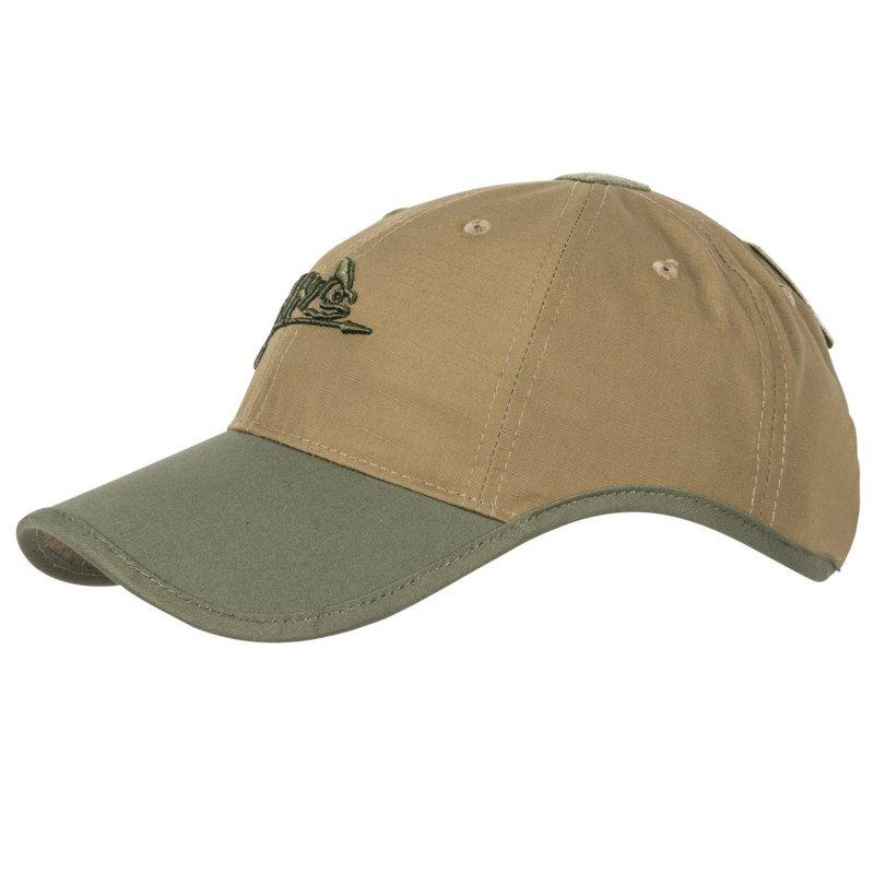 Gorra con logo Helikon-Tex - Coyote/Tan, Verde OD - Rebel Replicas