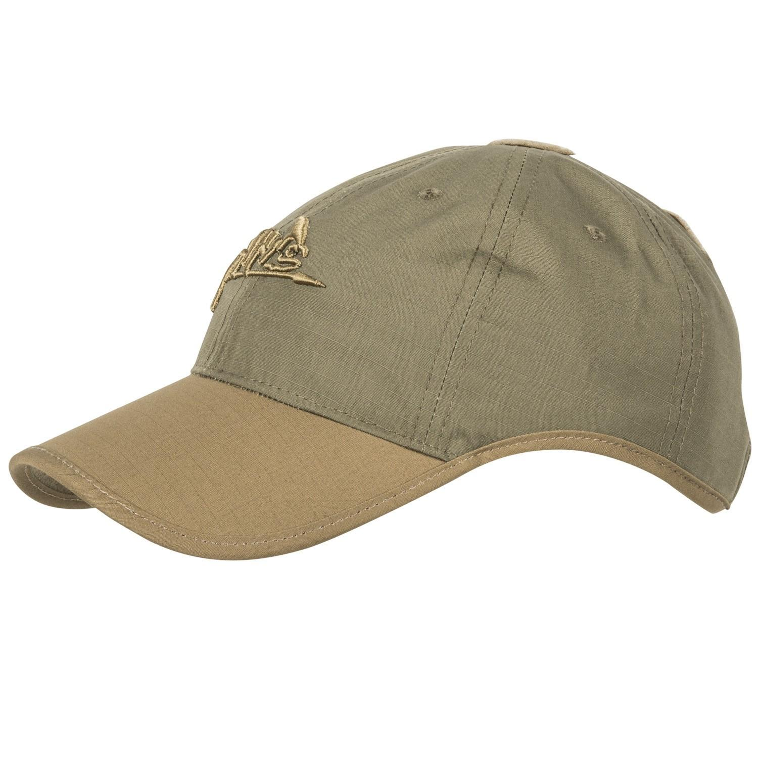 Gorra con logo Helikon-Tex - Verde adaptative, Coyote/Tan - Rebel Replicas