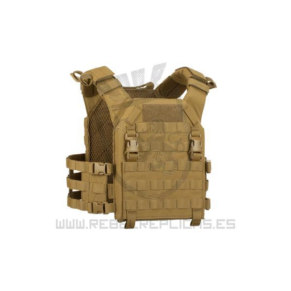 Chaleco RECON Plate Carrier - Coyote - Talla M - Warrior - Rebel Replicas