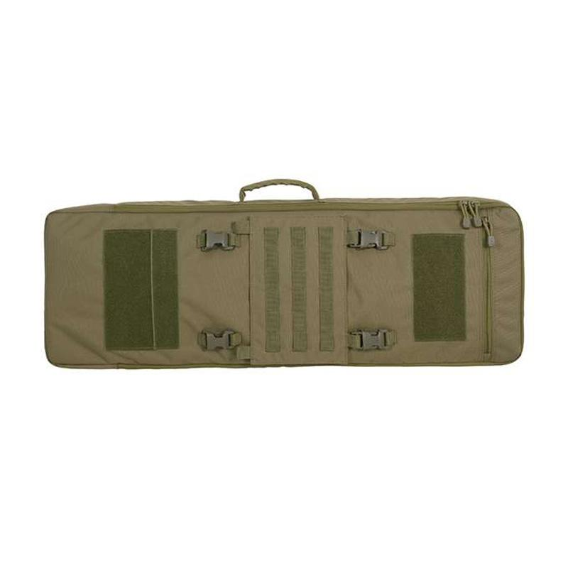 Mochila porta-arma con panel frontal desmontable - 90 cm - Verde OD - 8Fields - Rebel Replicas