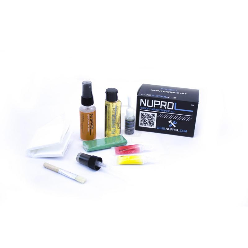 Kit de limpieza de Airsoft - Nuprol - Rebel Replicas