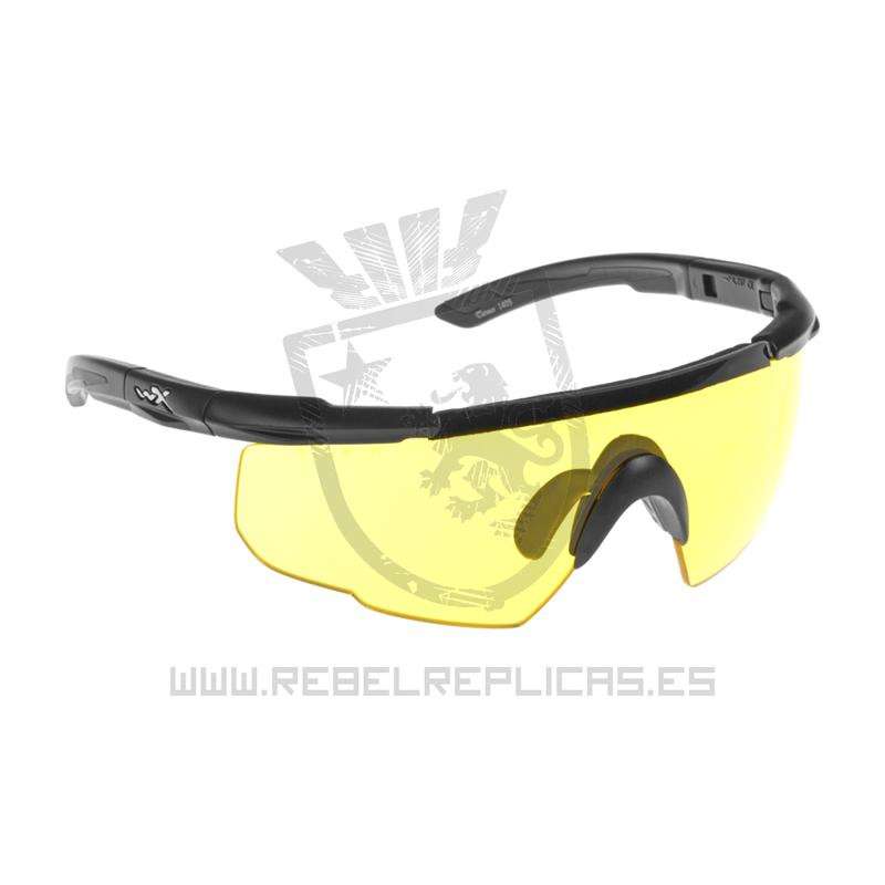 Gafas SABER ADVANCED - Amarillo - Wiley X - Rebel Replicas