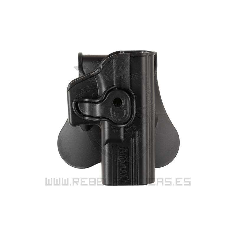 Funda rígida de extracción rápida para WE17 / TM17 - Negro - Amomax - Rebel Replicas