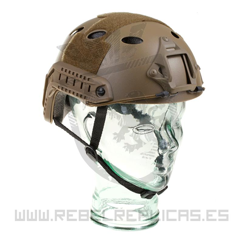 Casco FAST PJ Eco Version - Tan - EMERSON - Rebel Replicas
