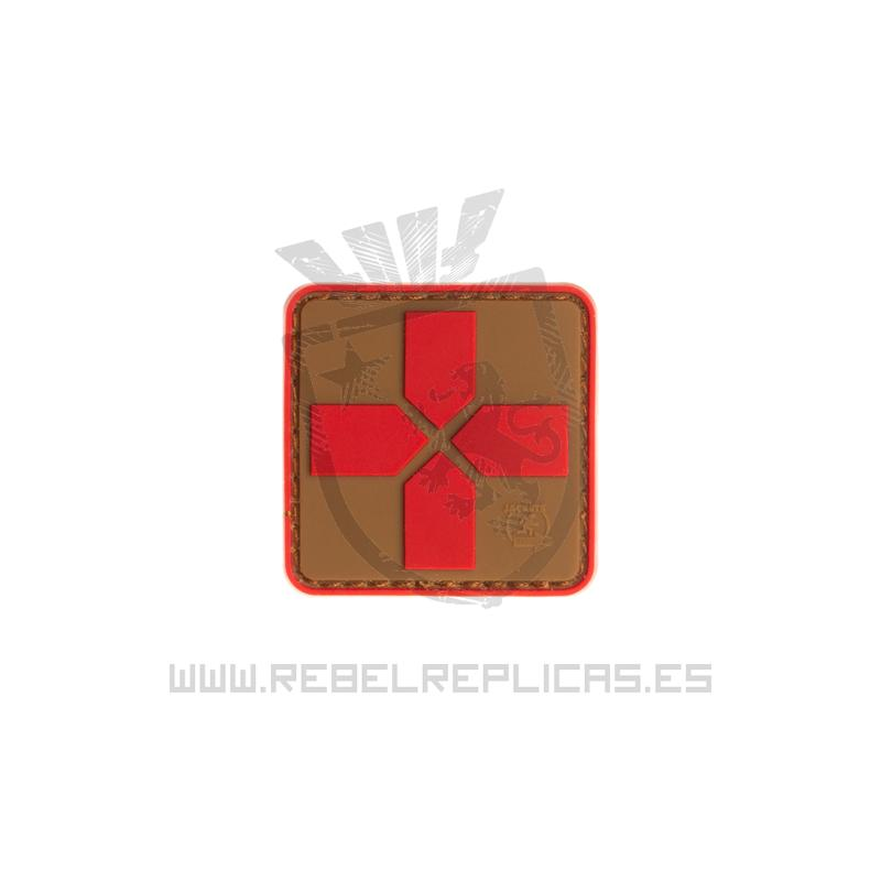 Parche médico RED CROSS - Coyote Red - JTG The Time Seller