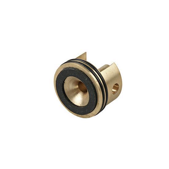 Cabeza de cilindro v2 Bore up con doble tórica, latón - Rebel Replicas