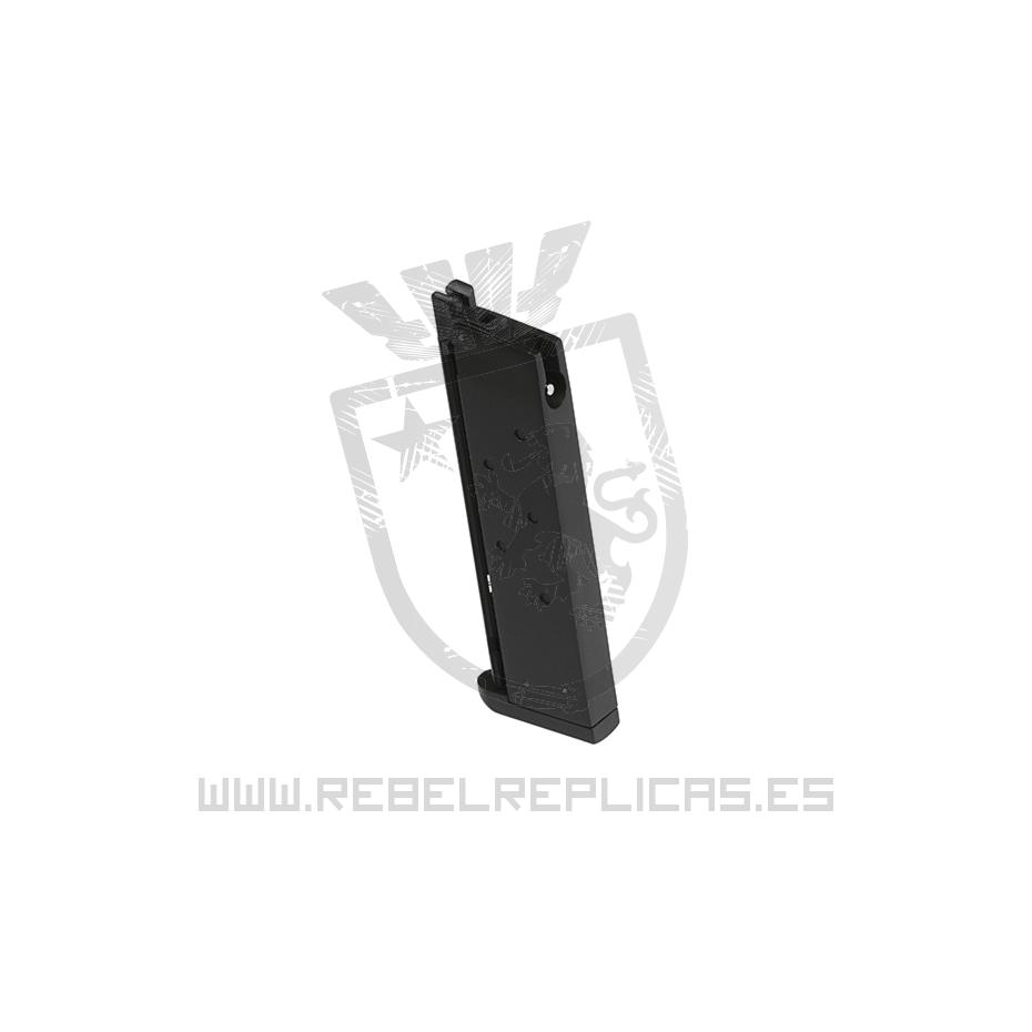 Cargador para M1911 Tactical GBB - Gas - 15BBs - WE - Rebel Replicas