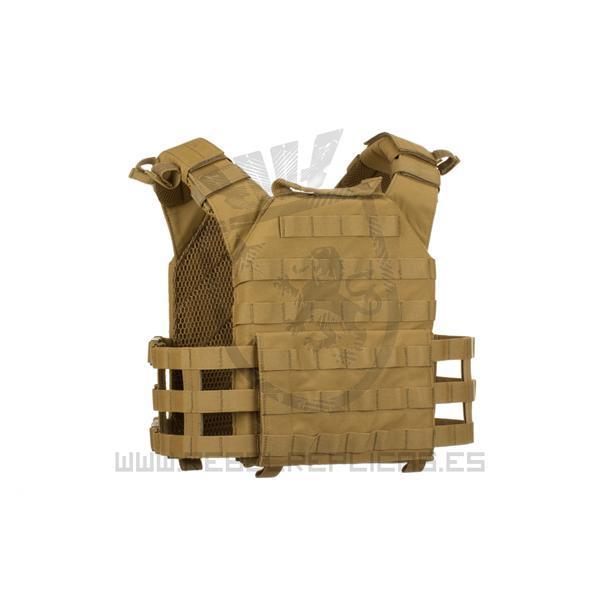 Chaleco RECON Plate Carrier - Coyote - Warrior - Rebel Replicas