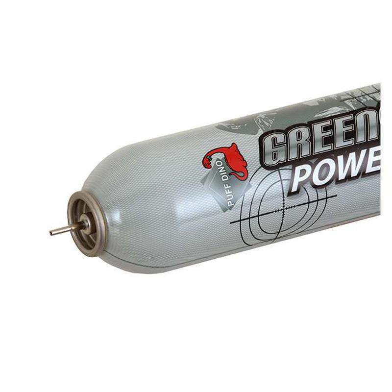 Winter Power Up Green Gas 560ml - 14Kg - Seco - Puff Dino - Rebel Replicas