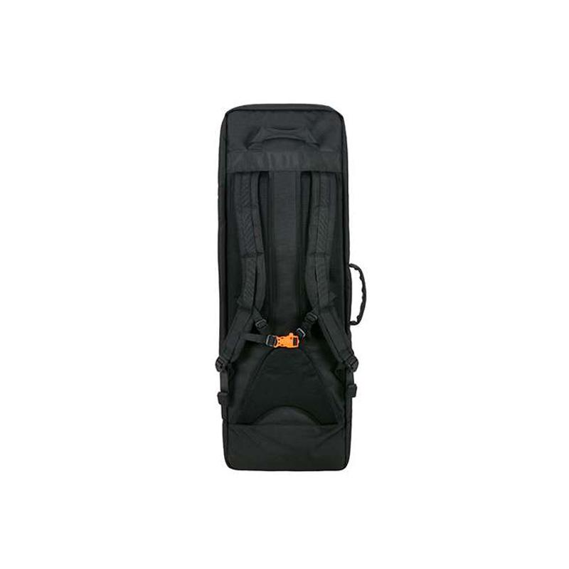 Mochila porta-arma con panel frontal desmontable - 90 cm - Negro - 8Fields - Rebel Replicas