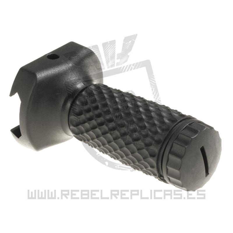 Empuñadura vertical corta Golf  Ball para raíl Picatinny - Negro - G&P - Rebel Replicas