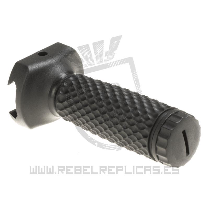 Empuñadura vertical larga Golf Ball para raíl Picatinny - Negro - G&P - Rebel Replicas