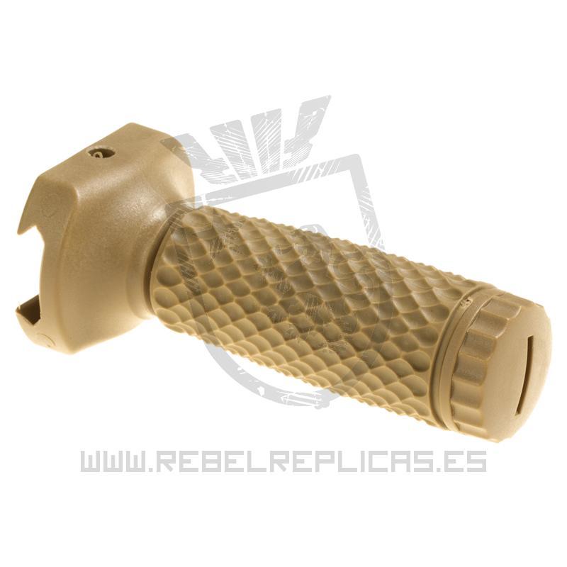 Empuñadura vertical larga Golf Ball para raíl Picatinny - Tan - G&P - Rebel Replicas