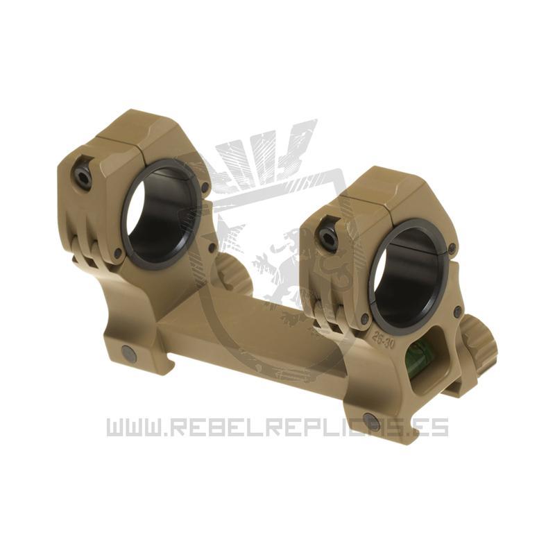 Montura M10 QD-L 25.4mm / 30mm - Tan - Aim-0 - Rebel Replicas