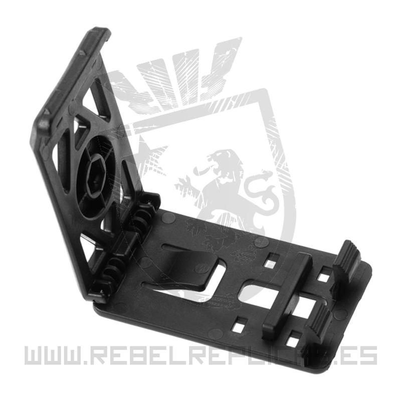 Clip adaptador para cinturón - Negro - Amomax - Rebel Replicas