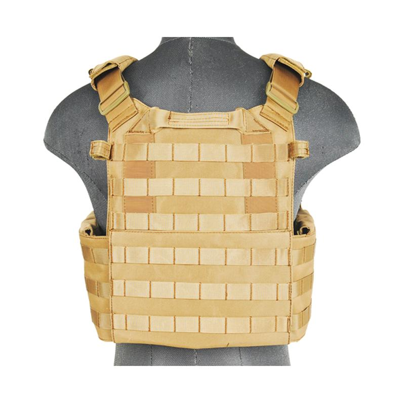 Plate Carrier 1000D - Tan - Lancer Tactical - Rebel Replicas