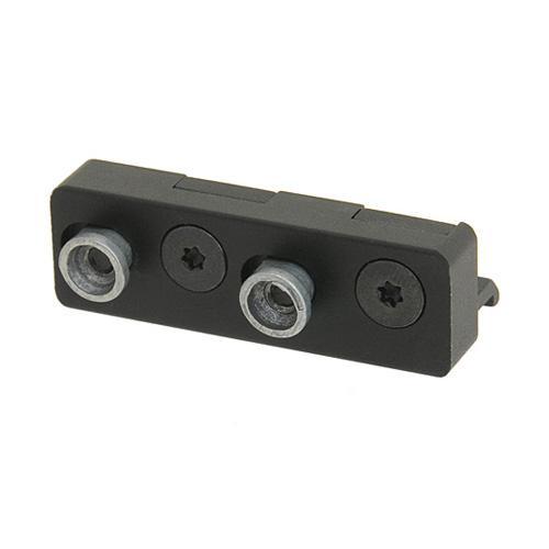 Montura de linterna para guardamanos Key-Mod - Negro - Rebel Replicas