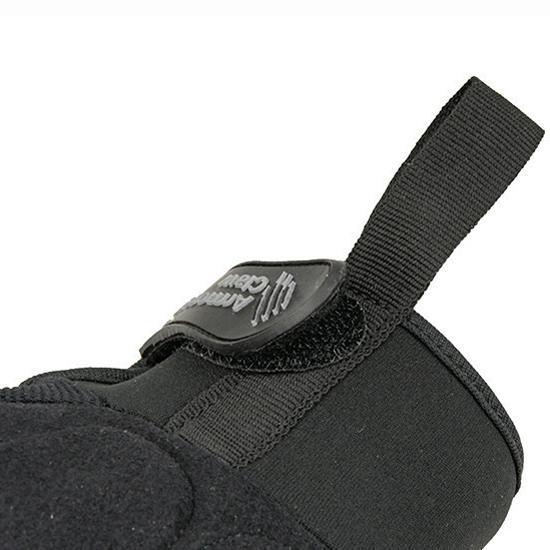 Guantes tácticos Armored Claw shooter Cut - Negro - Rebel Replicas