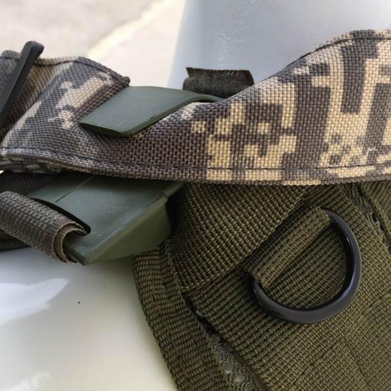 Tope de correa para chaleco táctico - Verde OD - Rebel Replicas