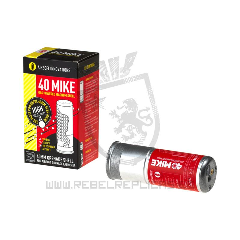 Granada 40 Mike para lanzagranadas de 40mm - 150BBs - Rebel Replicas