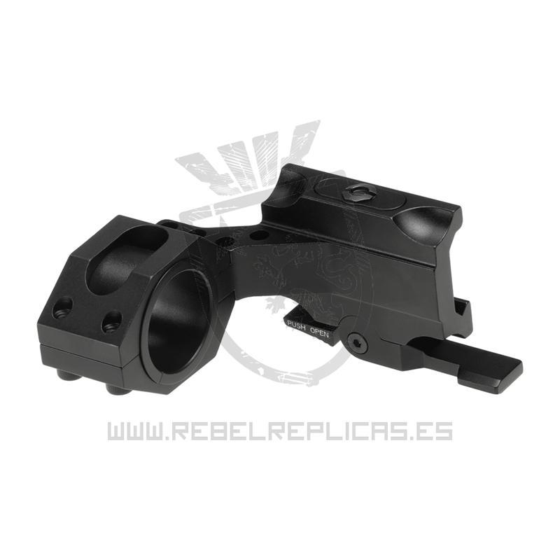 Montura QD Auto Lock Cantilever 25.4 / 30mm - Negro - Aim-0 - Rebel Replicas