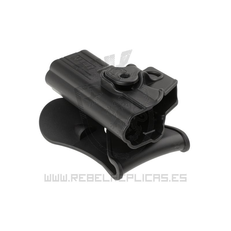 Funda rígida de extracción rápida para WE17 / TM17 - Negro - Amomax - Rebel Replicas