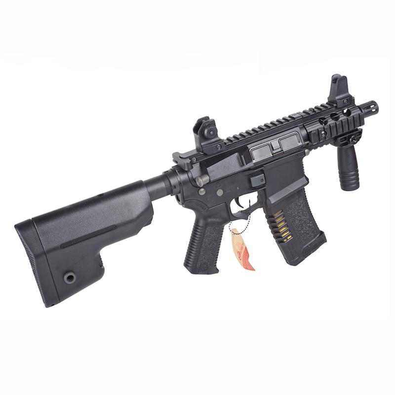 AM-007 M4-CQB TACTICAL EFCS - Negra - ARES Amoeba - Rebel Replicas