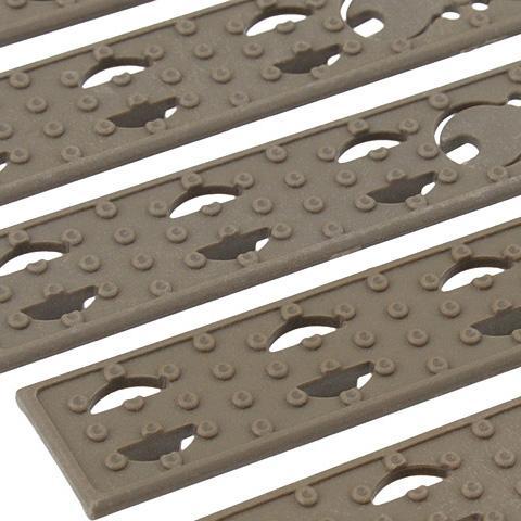Kit de paneles planos para guardamanos Key-Mod - Tan - Battle Axe - Rebel Replicas