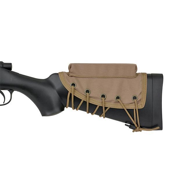 Carrillera para tirador - Multicamo negro - Rebel Replicas