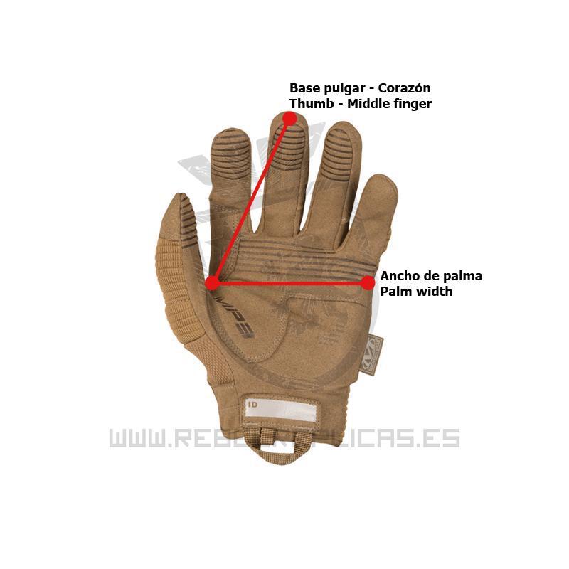 Guantes The Original M-Pact 3 Gen II - Coyote - Talla XL - Mechanix - Rebel Replicas