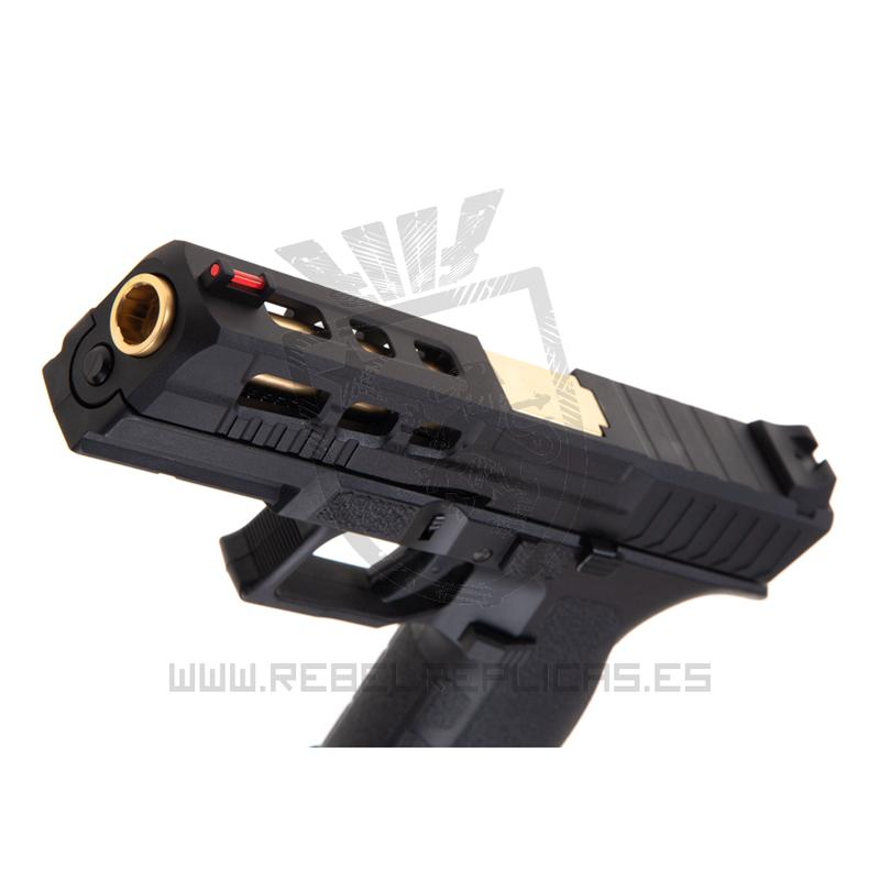 Pistola KP-13 Custom Metal Version - GBB - KJ WORKS - Rebel Replicas
