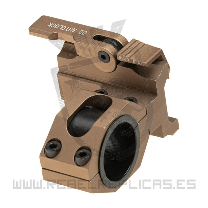 Montura táctica QD 25.4 / 30mm - Tan- Aim-0 - Rebel Replicas